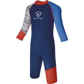 Isbjörn Sun Swimsuit Children blue